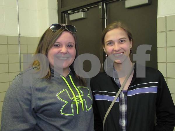 Heather Hanson and Maygan Mills