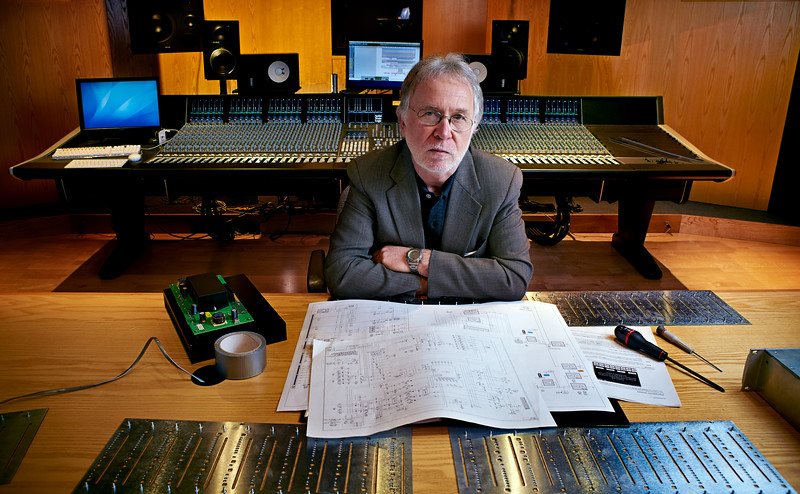 Chris Jenkins, SSL mixing desk designer