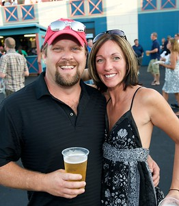 Tom and Shannon Palmer of North Vernon, IN at Riverbend for Eric Clapton