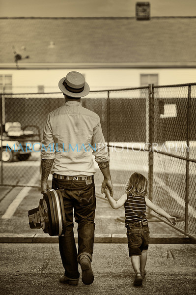 Father & son (New Orleans Jazz & Heritage Festival- Fri 5/6/11)