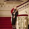 Erin at Powell Hall - St Louis Symphony Youth Orchestra - full pose