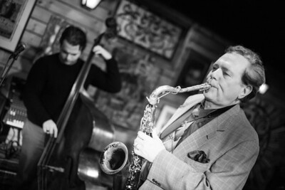 Ernie Krivda & The Jazz Workshop at The Barking Spider. University Circle ,Cleveland Ohio 01/12/15