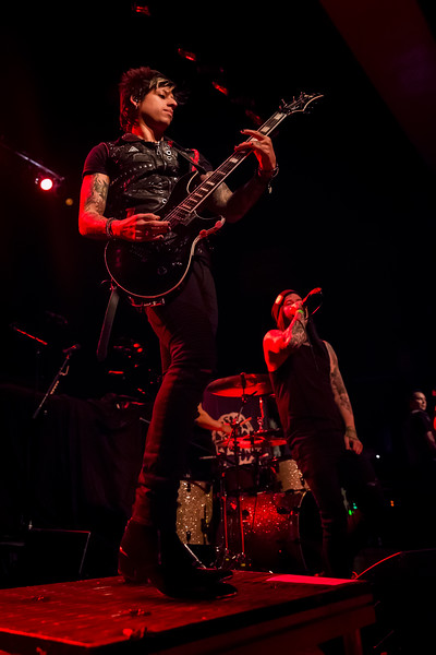 April 22, 2018 Alt 103.3 and Dahila Presents Escape the Fate opening for Papa Roach at the Egyptian Room at Old National Centre in Indianapolis, Indiana. Photo by Tony Vasquez.