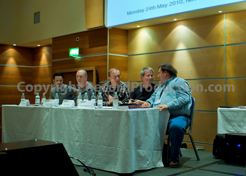 "Jon Cohen, Steve Lipson, Geoff Emerick, George Massenburg and Howard Massey talk about production at the AES London May 2010   -   Watch our video interview with Steve Lipson:  <a href=""http://www.recordproduction.com/steve-lipson-record-producer.html"">http://www.recordproduction.com/steve-lipson-record-producer.html</a>  --  Watch our VIDEO interview with Jon Cohen:  <a href=""http://www.recordproduction.com/jon-cohen-record-producer.html"">http://www.recordproduction.com/jon-cohen-record-producer.html</a>"