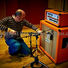 Sean Genockey mics up the guitar amp!