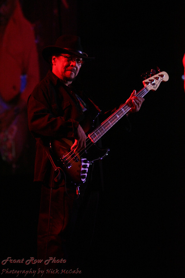 Billy Cox played Bass with Jimi Hendrix in Band of Gypsys.