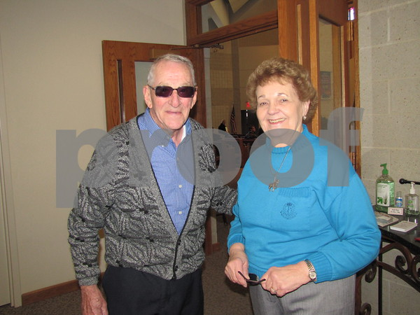 Bill Becker and Norma Hughett attended the Choral Society performance.
