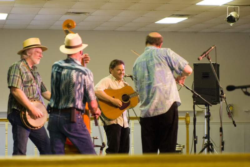 Lonestar Bluegrass Band<br /> Photographed by Janet Steiner Roberts