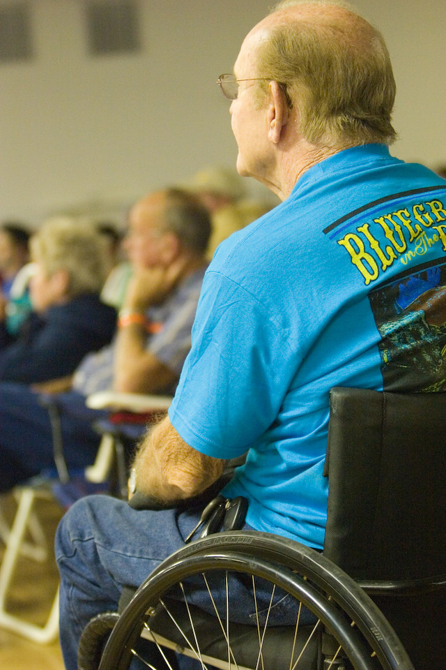 Audience<br /> Photographed by Janet Steiner Roberts
