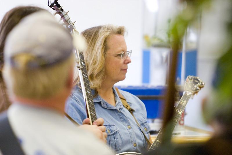 Banjo Workshop<br /> Photographed by Janet Steiner Roberts