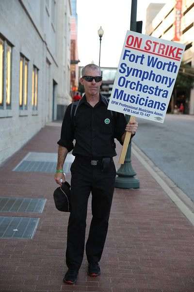Faces of the Ft. Worth Symphony - Strike Sept 2016