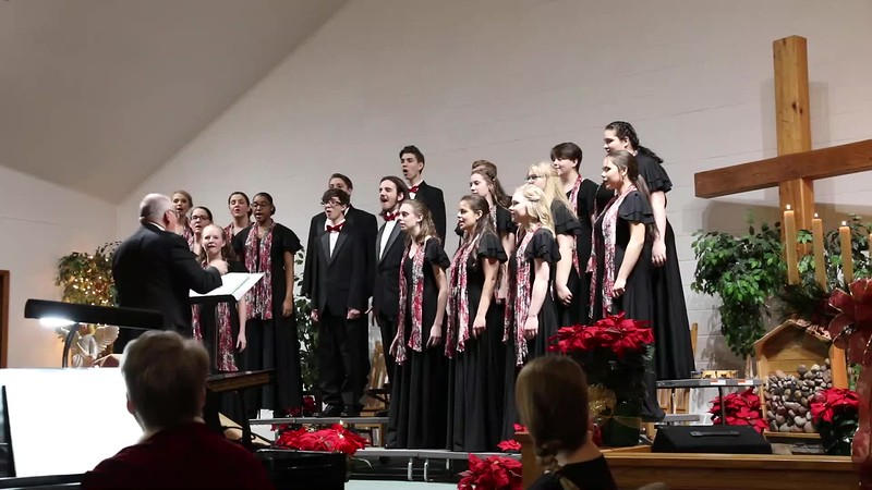 (Video- Double Click to Play) Fairview High School Choir - Christmas Concert 2019 - PART 1