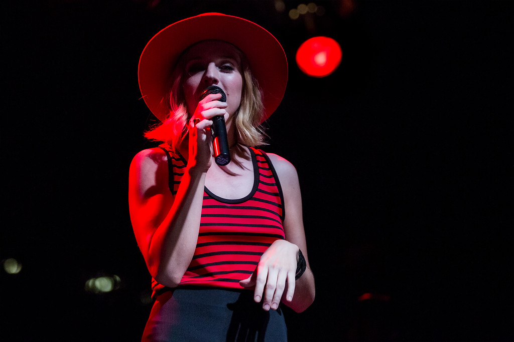Saturday September 5, 2015 ZZ Ward at Fashion Meets Music Festival in Columbus Ohio.
