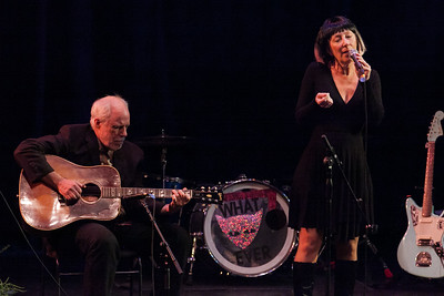 Kimberly Bass performing at Femme de la Creme 2015, at the historic Nevada Theater in Nevada City 22