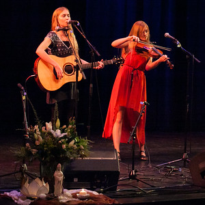 The Anderson Girls performing at Femme de la Creme 2015, at the historic Nevada Theater in Nevada City 19