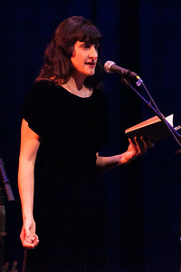 16 - Lizzie Hart performing at Femme de la Creme 2015 at the historic Nevada Theater in Nevada City