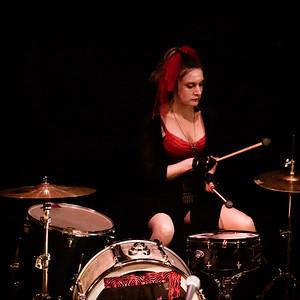 Suspirea performing at Femme de la Creme 2015, at the historic Nevada Theater in Nevada City 26