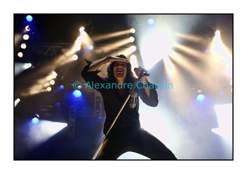 Steve Lee en concert avec Gotthard au Festival Label Suisse le vendredi 19 septembre 2008 sur la place de la Riponne à Lausanne.