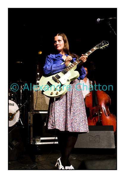 Heidi Happy au D! Club à Label Suisse le 19 septembre 2008 à Lausanne.