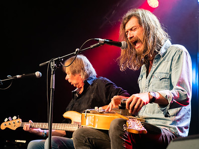 Cambridge Folk Festival 2019 - Jack Broadbent with his father as guest.