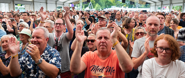 Cambridge Folk Festival 2019 - Audience enjoyment on Stage 2