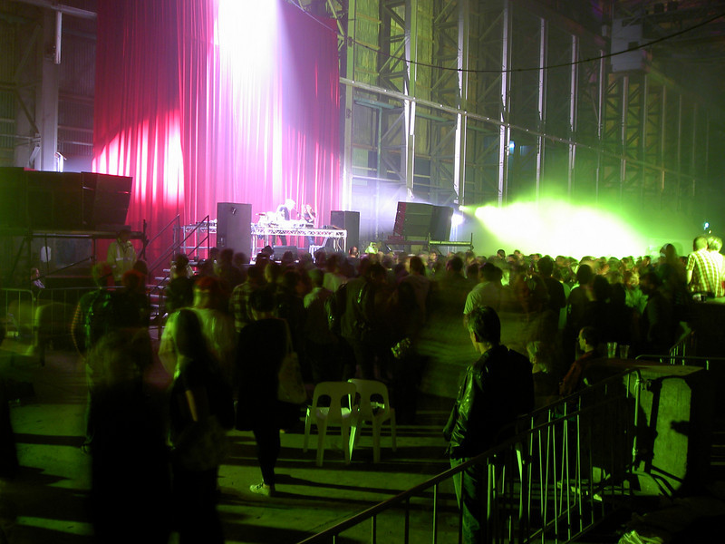 The spectacular turbine hall during Silver Apples