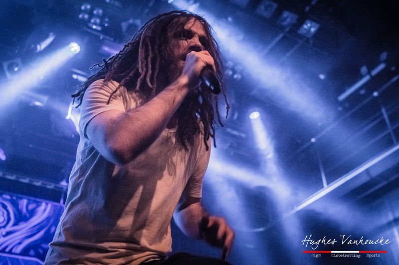 Mikee W Goodman - SikTh @ Complexity Fest - Patronaat - Haarlem - The Netherlands/Países Bajos