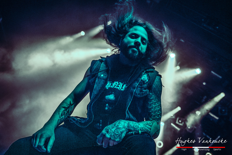 Ken Sorceron - The Faceless (USA) @ Complexity Fest - Patronaat - Haarlem - The Netherlands/Países Bajos