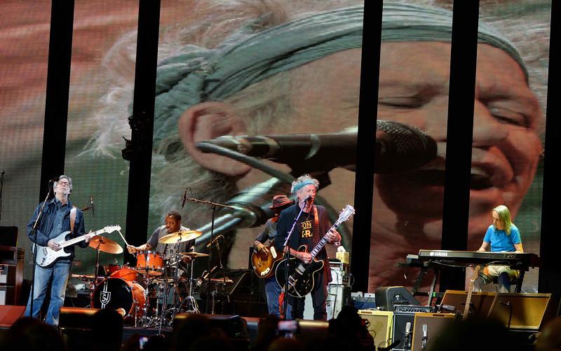 Keith Richards, Eric Clapton - Eric Clapton's Crossroads Guitar Festival 2013