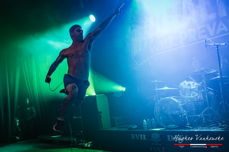 Louis Gauthier - Brutality Will Prevail (WAL) @ Evil or Die Fest 2019 - Roeselare - Belgium/Bélgica