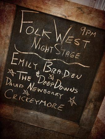 #Folkwest 2012 Kick off @LogansVictoria #yyjmusic August 10, 2012