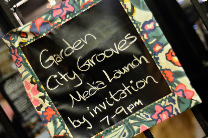 Garden City Grooves Launch Party, September 6, 2013  Makehouse, Victoria, BC