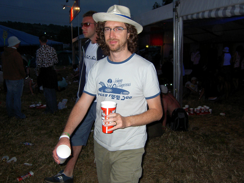 John's first festival beer