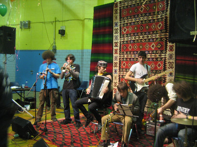 "Grupa Pubeski: ""New York's Teenaged Balkan Ensemble ""      See   http://www.myspace.com/grupapubeski"