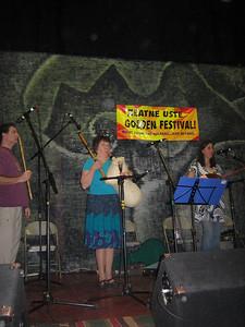 Macedonian vllage music by Izvornotes: Susan Anderson (gajda), Jeff Fine (kaval), Marjorie Selden & Kristina Vaskys (tambura), Jerry Kisslinger (tupan)