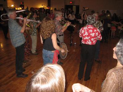 Balkan Brass music by Bez Granica: Laine Harris, Drew Harris, John Bartholomew, Becky Ashenden, Chuck Corman, Ben Thomas, Gawain Thomas, Helen Marx