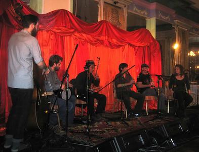 MWE playing Turko-Balkan folk dance music in Grand View room (4th floor).    http://www.myspace.com/mwesf/
