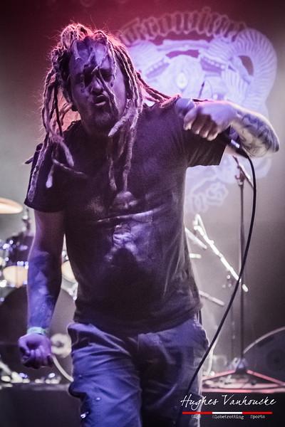 Dafus Demon - Growing Horns (BEL) @ Headbanger's Balls Fest 2018 - De Lees - Izegem - Belgium/
