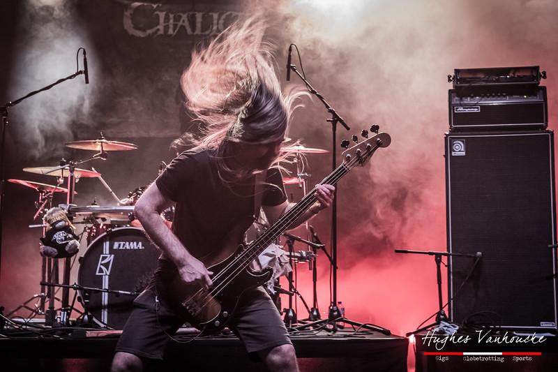 Chris Lagrange - Chalice @ Headbanger's Balls Fest 2019 - CC De Leest - Izegem - Belgium/Bélgica