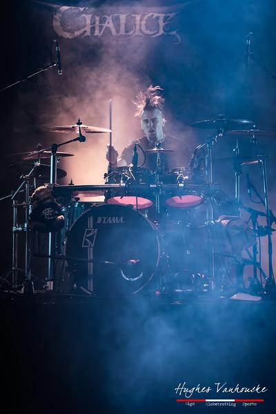 Niels Verbeke - Chalice @ Headbanger's Balls Fest 2019 - CC De Leest - Izegem - Belgium/Bélgica