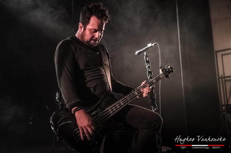 Werther Ytier - Dagoba @ Headbanger's Balls Fest 2019 - CC De Leest - Izegem - Belgium/Bélgica