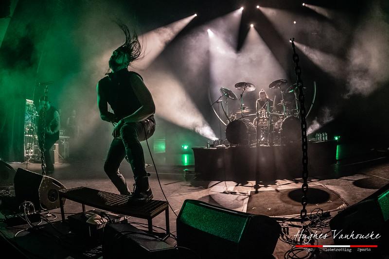 Dagoba @ Headbanger's Balls Fest 2019 - CC De Leest - Izegem - Belgium/Bélgica