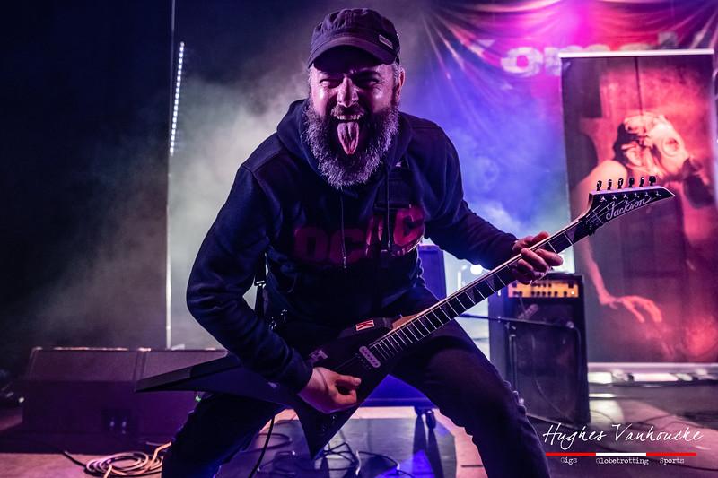Valery Granson - Komah (BEL) @ Headbanger's Balls Fest 2019 - CC De Leest - Izegem - Belgium/Bélgica