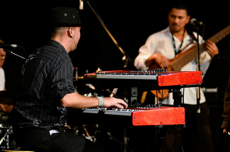 TD VIctoria International Jazzfest Gabriel Palatchi Band