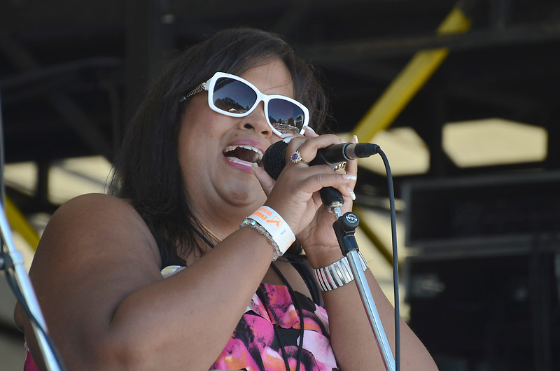 Maureen Washington - 2015 Victoria Jazzfest June 20