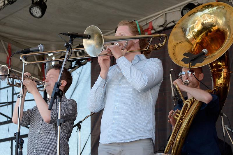 Heavyweights Brass Band - 2015 Victoria Jazzfest June 20