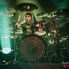 Jason Bittner - Overkill  @ MTV's Headbangers Ball - Trix - Antwerp/Amberes - Belgium/Bélgica