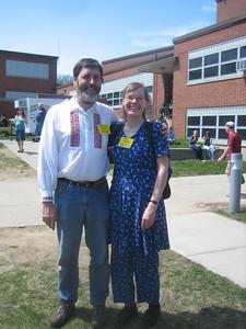 Ken and Sandy at NEFFA 2007