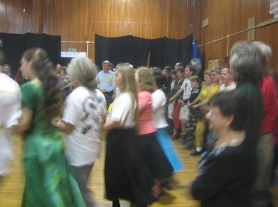 Dancers in Lower Hall, NEFFA 2006