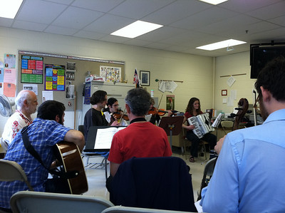 Greek music jam    --  the opportunity for anyone to bring an instrument and play along...